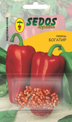 Перец Богатырь (0,3г инкрустированных семян) -SEDOS