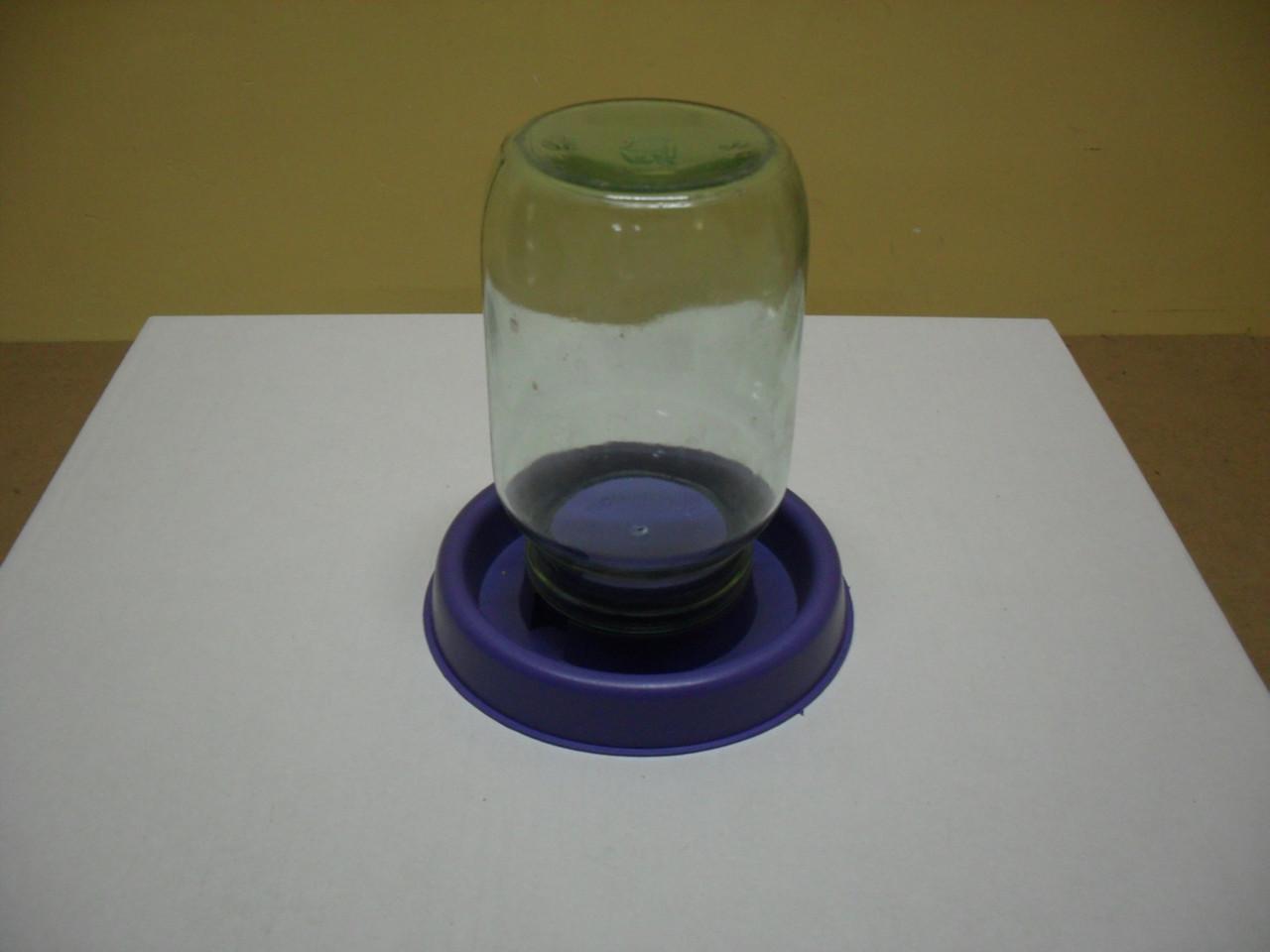 Поилка для уток из пластиковой бутылки
