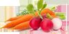 Комбинации (морковь + редис)