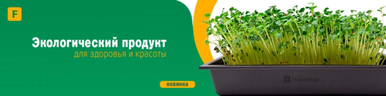 Микрозелень - экологический продукт для здоровья и красоты