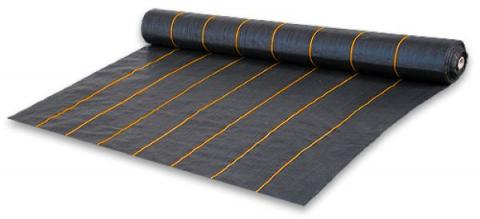 Агроткань чёрная UV, плотность 90г/м.кв - Bradas