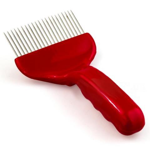 Вилка для распечатки сот, красная