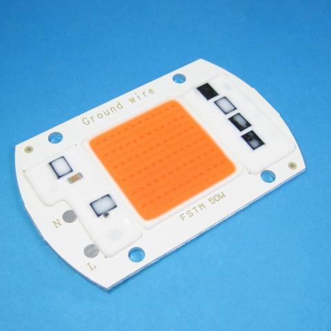 Фито-светодиод, LED COB 50 W