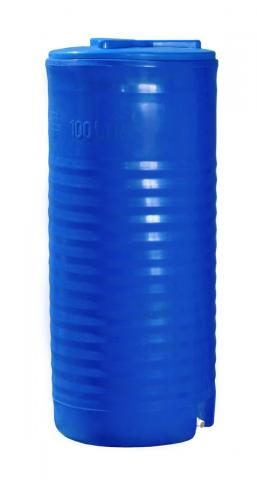 Емкость вертикальная двухслойная узкая 100 л