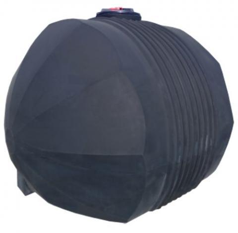 Емкость черная для перевозки технической воды с крышкой клапаном 5000 л