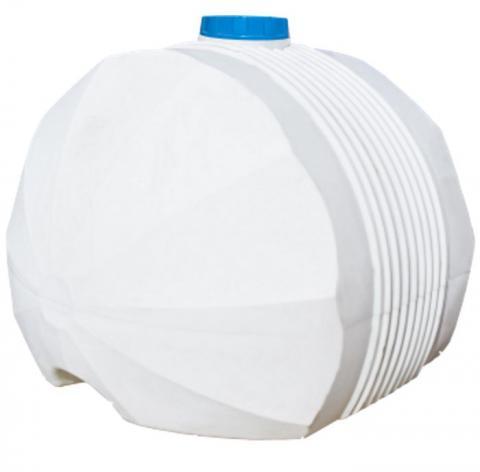 Емкость белая для перевозки пищевой воды 5000 л КАС