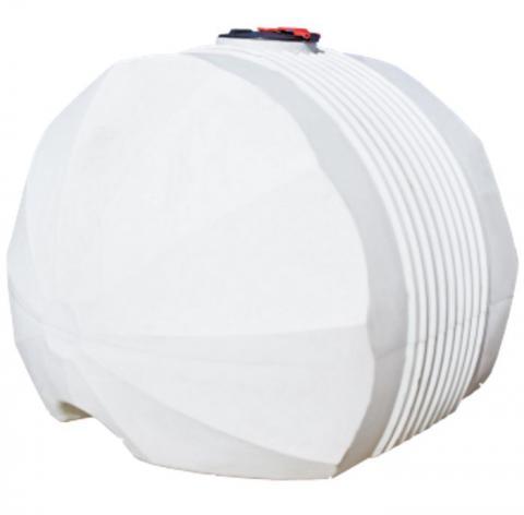 Емкость белая для перевозки пищевой воды с крышкой клапаном 5000 л