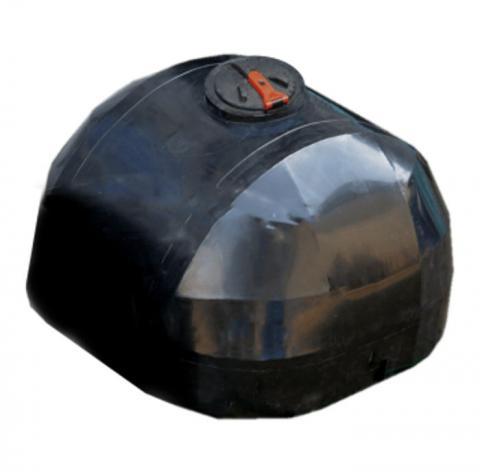 Емкость черная для перевозки с крышкой клапаном 5000 л
