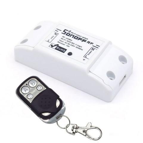 Wifi реле с радиоуправлением Sonoff RF (возможность управления пультом)