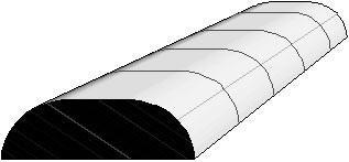 """Дополнительная секция к теплице """"Редисочка"""", размер: 1.9х1х0.3 м"""