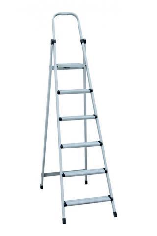 """Лестница-стремянка металлическая """"МАСТЕР"""" 6 ступеней, h=1250 мм"""