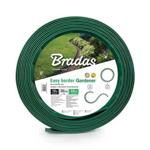 Бордюр газонный - BRADAS, зеленый