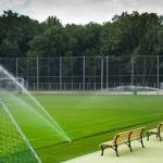 Автополив для футбольных полей