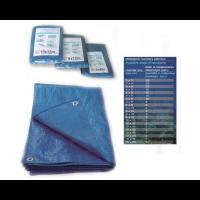 Тент водонепрницаемый синий 60 г/м², Польша
