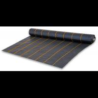 Агроткань чёрная UV, плотность 90г/м.кв, размер 0,6х100м - Bradas