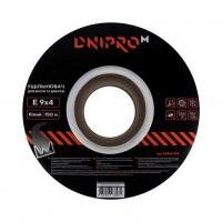 Уплотнитель самоклеющийся белый, Е-тип, 9х4мм, 150 м - Дніпро-М