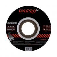 Уплотнитель самоклеющийся коричневый, Е-тип, 9х4мм, 150 м - Дніпро-М