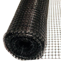 Сетка вольерная чёрная, размер: ячейки 15х22мм, рулона 1,5х100м - Испания
