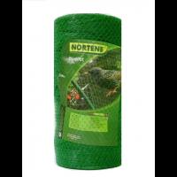 Сетка защита от птиц AGREEN зелёная, 4х50 м, (ячейка 18х18 мм)