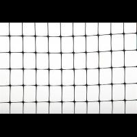 Ограждение чёрное, 100х1 м (ячейка 10х10 мм)