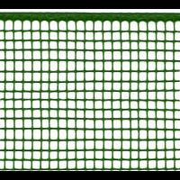 Декоративное ограждение TENAX QUADRA зелёное, 50х1 м (ячейка 9х9 мм, плотность: 270 г/м.кв)