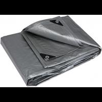 Тент серый усиленный 150 г/м², размер: 2х3 м