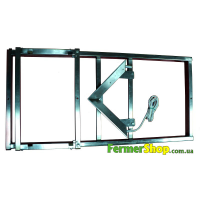 """Механизм для обрезки сот """"Клин"""" горизонтальный (паровой нож, металлическая рама)"""