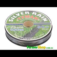 "Спрей шланг ""Туман - Silver Rain"",  диам. - 25 мм, 8 mil, (бухта - 100 м) - Украина"