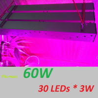 Led Фито-светильник, 60 Вт, мультиспектр