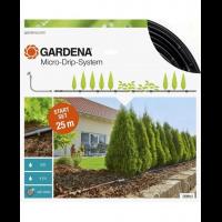 Комплект микрокапельного полива Micro-Drip-System для рядного полива 25 м - Gardena
