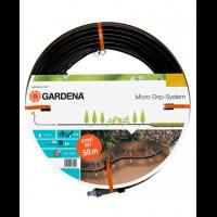 Комплект микрокапельного полива Micro-Drip-System для подземной прокладки 13,7 мм, 50 м - Gardena