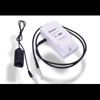 Wifi реле с возможностью подключения датчиков температуры и влажности Sonoff TH10 (10А)