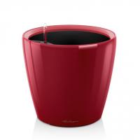 Кашпо CLASSICO 21 LS ярко-красный блестящий