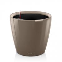 Кашпо CLASSICO 21 LS серо-коричневый блестящий