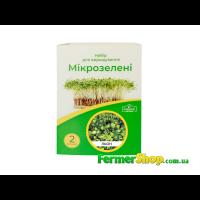 """Набор для выращивания микрозелени """"Домашний фермер"""" Лён"""