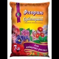 Субстрат для цветущих растений 7 л - Флорин