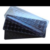 Парничок для рассады на 44 ячейки (кассета+крышка)