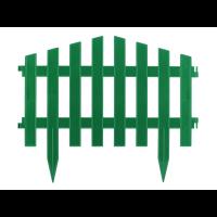 Декоративное садовое ограждение 43х27 см (1 секция)