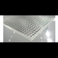 Монолитный поликарбонат призма Borrex 2 мм,  размер листа 2050х3050 мм, прозрачный