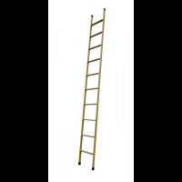Лестница приставная металлическая 10 ступеней, h=2980 мм