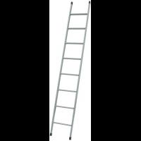 Лестница приставная металлическая 8 ступеней, h=2430 мм
