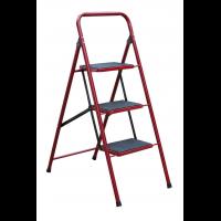 """Лестница-стремянка металлическая """"СЕМЬЯ"""" 3 ступени с ковриком, h=760 мм"""