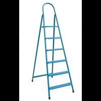 """Лестница-стремянка металлическая """"ИТАЛИЯ"""" 6 ступеней, h=1310 мм"""