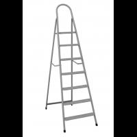 """Лестница-стремянка металлическая """"ИТАЛИЯ"""" 7 ступеней с растяжками, h=1540 мм"""