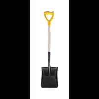 Лопата совковая с черенком и ручкой, 120 см