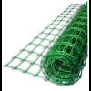 Ограждение зеленое, размер: ячейки 27х42 мм, рулона 50х2 м - Италия