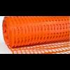 Ограждение оранжевое, размер: ячейки 60х50 мм, рулона 50х1 м - Италия