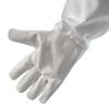 """Перчатки белые, с нарукавниками """"Witehand"""""""