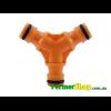 Тройник для коннектора оранжевый