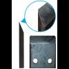 Измельчитель веток с приводом от электродвигателя (односторонняя заточка)